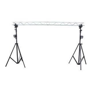 American Dj Supply Light Bridge One System Mini Triangular Steel Truss And Crank Stand System Musical Instruments