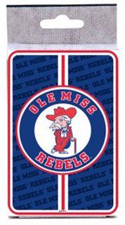 NCAA Ole Miss Rebels Bullseye Playing Cards  Sports Related Games  Sports & Outdoors