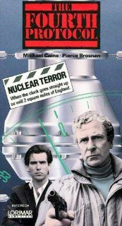 The Fourth Protocol [VHS] Michael Caine, Pierce Brosnan, Ned Beatty, Joanna Cassidy, Julian Glover, Michael Gough, Ray McAnally, Ian Richardson, Anton Rodgers, Caroline Blakiston, Joseph Brady, Betsy Brantley, John Mackenzie, Frederick Forsyth, Timothy Bu