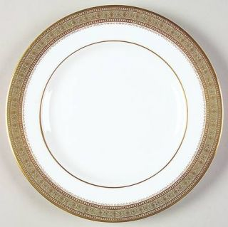 Royal Doulton Belvedere Bread & Butter Plate, Fine China Dinnerware   Gold Desig