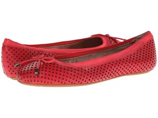 DKNY Bella Ballerina Womens Flat Shoes (Red)