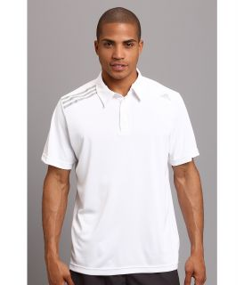 adidas Clima Chill Polo Mens Short Sleeve Pullover (White)