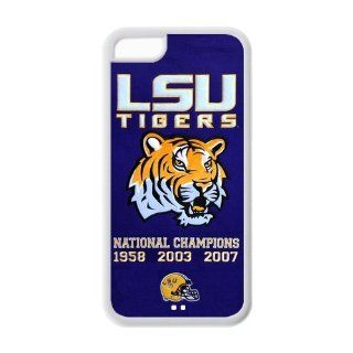 The Louisiana State University LSU Tigers Southeastern banner Conference SEC Pete Maravich Assembly Center Iphone 5C Custom Personalized Cover TPU Case Electronics