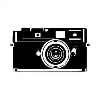 Retro Camera (regular) wall saying vinyl lettering home decor decal stickers quotes