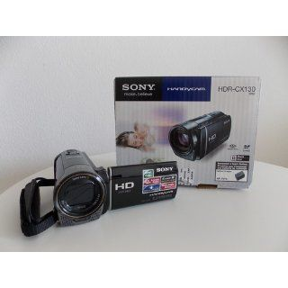 Sony HDR CX130 Full HD Memory Card Camcorder with 30x Optical and 350x Digital Zoom (Silver)  Camera & Photo