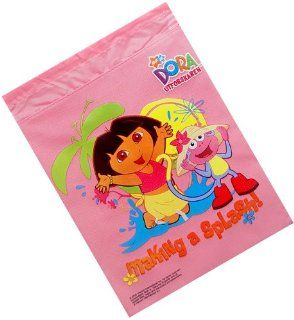 Dora the Explorer Combo   Dora Drawstring Backpack and One Pair of Dora Sandals Set, One Bag will be Sent Randomly Toys & Games