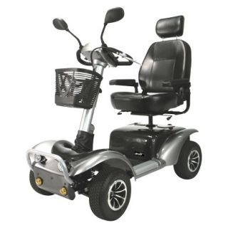 Drive Grey Osprey 4 Wheel Heavy Duty Scooter