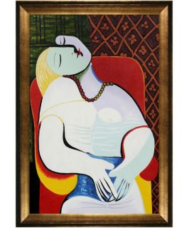 Picasso   The Dream Canvas Wall Art   29W x 41H in.