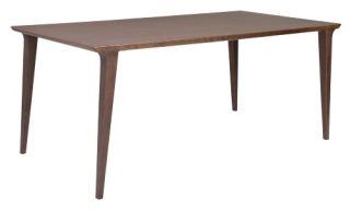 Euro Style Daffodil Dining Table   Walnut   Kitchen & Dining Room Tables
