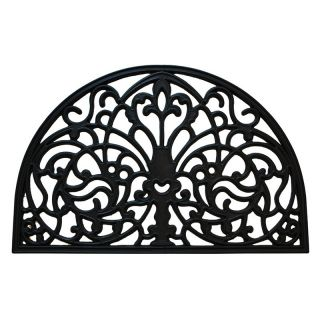 Creative Accents Florentine Wrought Iron Indoor / Outdoor Rubber Mat   Doormats