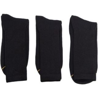GT by Gold Toe 3 Pair Big & Tall Cotton Casual Socks