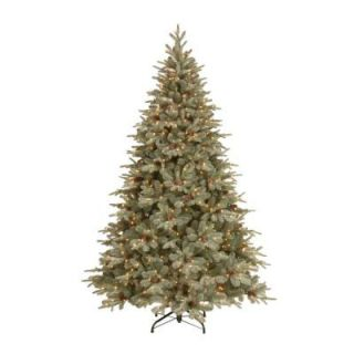 National Tree Company 7.5 ft. Frosted Arctic Spruce Artificial Christmas Tree with Clear Lights PEFA1 300 75