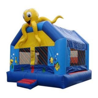 Kidwise Commercial Sea Creature Bounce House