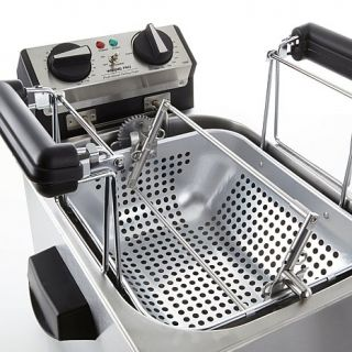Waring Pro Ultra Deep Fryer and Steamer with Turkey Rotisserie   7221086
