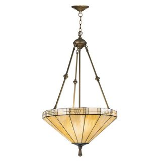 Dale Tiffany Umbrella Filigree Hanging Fixture   20W in. Antique Brass Plating   Pendant Lights