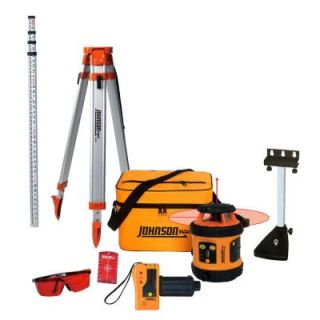 Johnson Self Leveling Rotary Laser Level System 99 002K