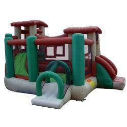KidWise Clubhouse Climber Inflatable Bounce House   13588367
