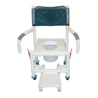 MJM International Standard Deluxe Shower Chair with Clamp On Seat
