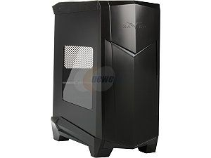 SilverStone RAVEN Series RV05B Black Plastic outer shell, steel body Computer Case