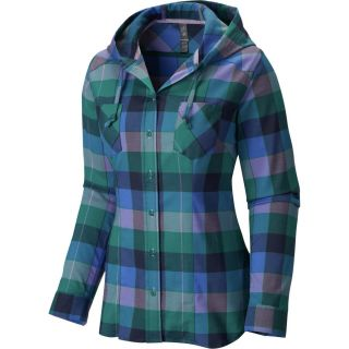 Mountain Hardwear Stretchstone Flannel Shirt   Long Sleeve   Womens