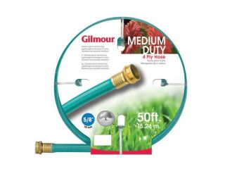 "Gilmour 5/8"" x 50'  4 Ply Medium Duty Garden Hose"