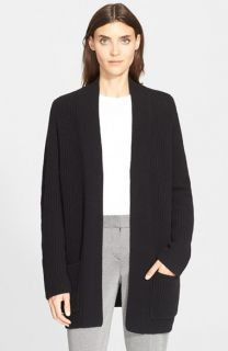 Theory Marienala Ribbed Wool & Cashmere Cardigan