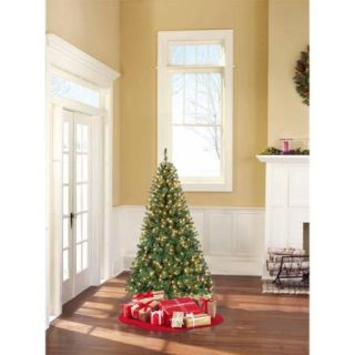 Holiday Time Pre Lit 6.5' Madison Pine Artificial Christmas Tree, Clear Lights