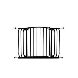 Dreambaby Chelsea Xtra Hallway Swing Closed Security Gate  Black