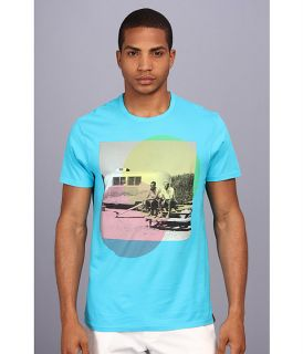 Ben Sherman S S Graphic Mb10476 Blue Atoll