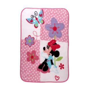 Disney Baby Minnie Mouse Lux Plush   Baby   Baby Bedding   Blankets