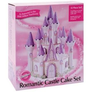 Wilton Romantic Castle Cake Set, 32 pc. 301 910