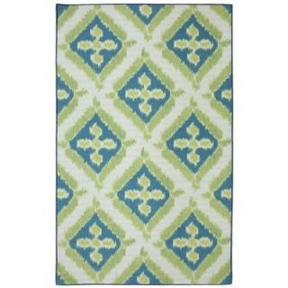 Mohawk Home Summer Splash 8 ft. x 10 ft. Outdoor Printed Patio Area Rug 379902