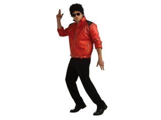 Michael Jackson Red Zipper Jacket Deluxe Costume Adult Medium