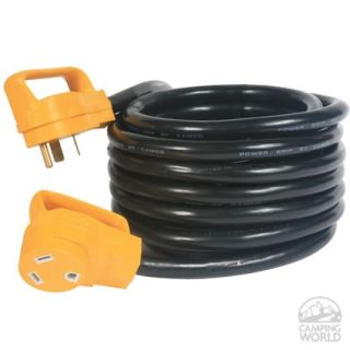 Power Grip Heavy Duty 30A Extension Cord   25 ft.   Camco 55191   Electrical Cords