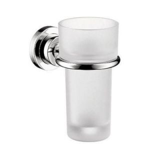 Hansgrohe Axor Citterio Wall Mounted Tumbler and Holder in Chrome 41734000