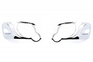 2007, 2008, 2009 Ford Explorer Chrome Light Covers   Putco 401967   Putco Chrome Headlight Bezels