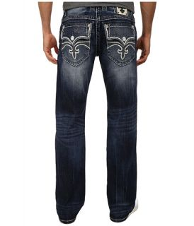 Rock Revival Tate J400 Brand Back Pocket Straight Jean