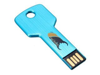 0nchoice 4GB USB 2.0 Waterproof Metal Key Flash Memory Stick Pen Drive Storage