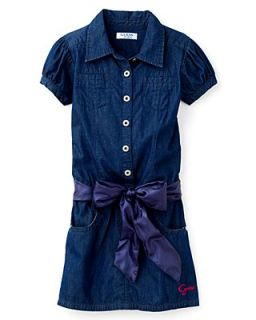 GUESS Kids Girls' Dress With Sash   Sizes S XL