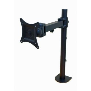 Articulating Single Arm Computer Monitor Desk Mount for Monitors up to