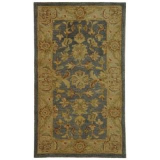 Safavieh Antiquity Blue/Beige 2 ft. 3 in. x 4 ft. Area Rug AT312A 24