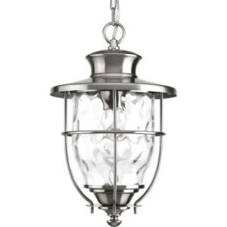 Progress Lighting Beacon Collection Stainless Steel Outdoor Hanging Lantern P6511 135DI