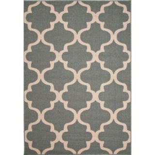 Home Decorators Collection Handmade Blue Surf 2 ft. x 3 ft. 7 in. Moroccan Area Rug RUG121925
