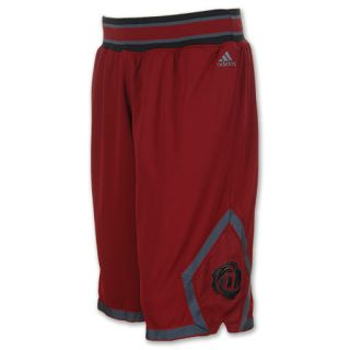Mens adidas D Rose 3 Chicago Bulls Basketball Shorts   Z45924 MAR