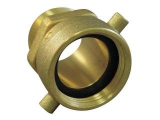 Fire Hose Pin Lug Swivel Adapter, NH Female x MNPT, Moon American, 363 1521561