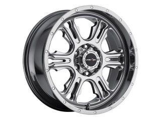 "Vision 397 Rage 20x9 6x139.7/6x5.5"" +0mm PVD Chrome Wheel Rim"