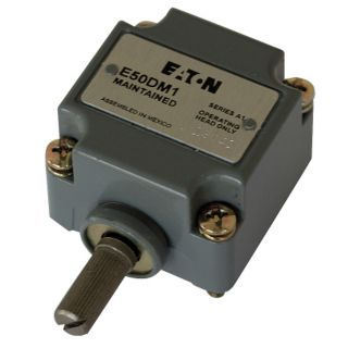 EATON Limit Switch Head, CW and CCW, Actuator Location: Side, NEMA Rating: 1, 2, 4, 4X, 6P, 12, 13   Limit Switch Heads   49C020|E50DM1