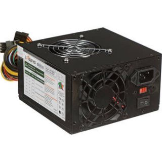 Logisys 550W Dual Fan Switching Power Supply (Black) PS550A BK