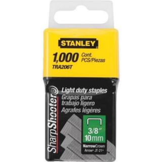 "Stanley 3/8"" Light Duty Staple TRA206T"