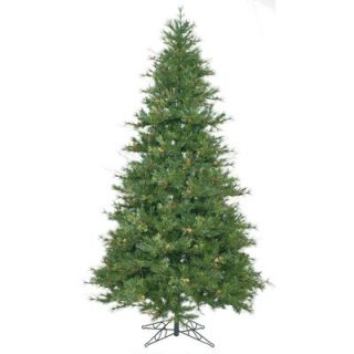 Vickerman Mixed Country Pine 7.5 Green Slim Artificial Christmas Tree